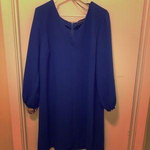 Elloqui blue dress